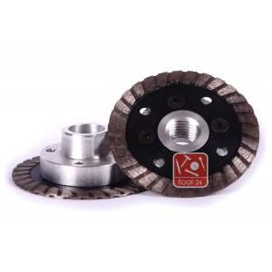 Алмазный диск с фланцем для резки гранита 65мм Palmina S