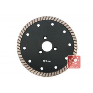 Алмазный диск под фланец для резки гранита 125мм Palmina S