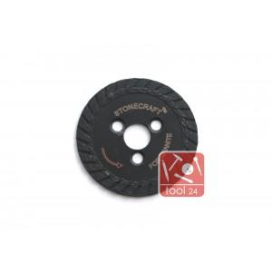 Алмазный диск под фланец для резки гранита 50мм