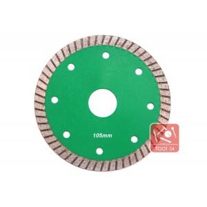 Супер тонкий алмазный диск для резки гранита 105мм Palmina S
