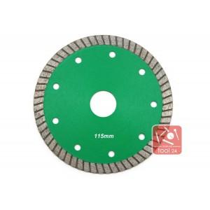 Супер тонкий алмазный диск  115мм Palmina S для резки гранита, твердой керамики
