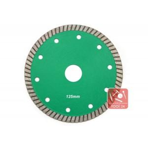Супер тонкий алмазный диск 125мм Palmina S для резки гранита, твердой керамики