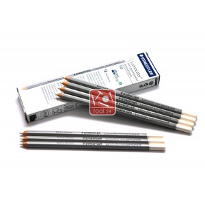 Белый восковой карандаш STAEDTLER