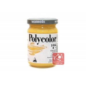 Акриловая краска Maimeri Polycolor неаполитанский желтый для портретов и пейзажей