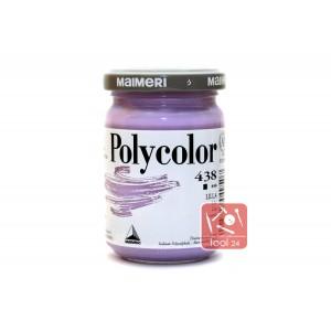 Акриловая краска Maimeri Polycolor лилового цвета для портретов и пейзажей