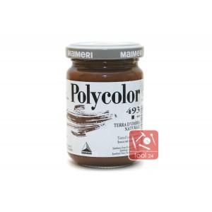 Акриловая краска Maimeri Polycolor коричневого цвета для портретов и пейзажей