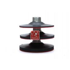 Ухват резиновый, матрица, ухват для кругов велкро, основа, липучка, держатель для кругов для полировки и шлифовки камня  d 100мм, d125мм, d150мм