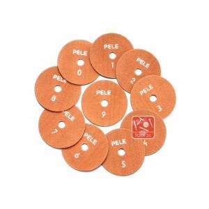 Алмазные липучки для полировки Pele 100мм