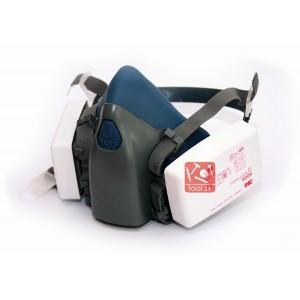 Комплект респиратор 3м 7502 с фильтрами 6035