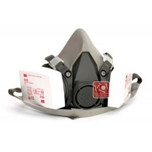 Респиратор 3м 6200 с фильтрами 6035