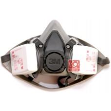 Респираторы, полумаски 3м 6000, 7500, 6002, 7502, фильтры 3м 6035, 2128 для защиты органов дыхания