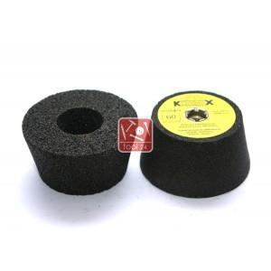 Абразивная шарошка Krzemex Ф100*50*М14 для шлифовки камня.