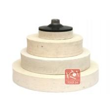 Войлок, фетр для полировки камня, гранита, мрамора, фетр, войлок для болгарок и прижимных станков 80мм, 100мм, 125мм, 150мм, 160мм, 180мм, 200мм, 250мм, 320мм