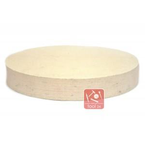 Войлочный круг для полировки камня 250*40мм