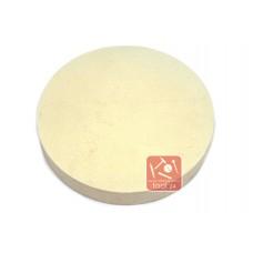 Войлок, фетр белый тонкошерстный жесткий  250*40мм для полировки камня, гранита, мрамора, металла на прижимных станках